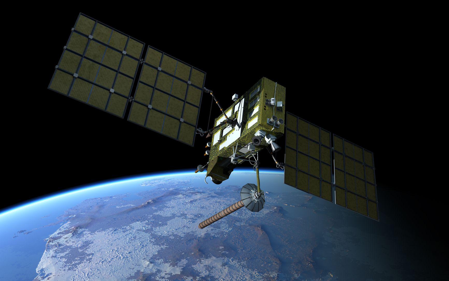 9827427 - navigation satellite